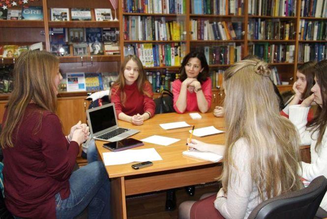 Покращувати знання англійської можна в обласній науковій бібліотеці