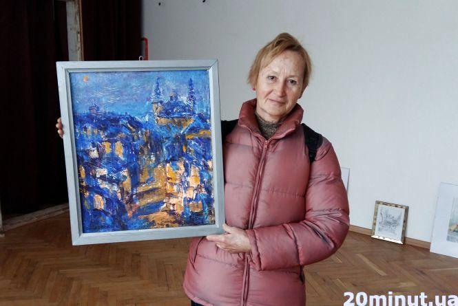 """Галина Лебедєва: """"Чоловіку легше бути художником, ніж жінці"""""""