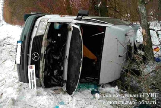 ДТП на Шумщині: вини дорожників нема. Винна, кажуть, погода