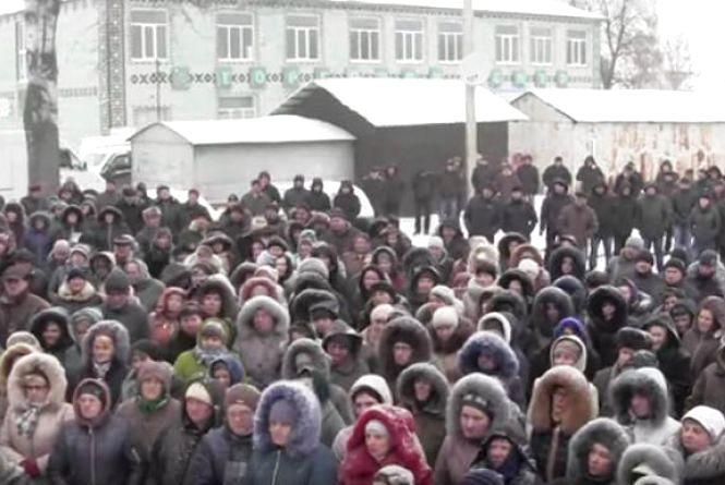 Селяни в Горошовій вийшли на мітинг. Люди протестували проти будівництва ГЕСів