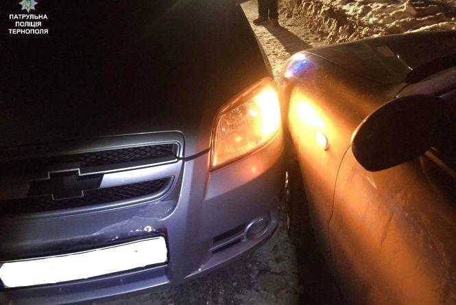 """На """"Східному"""" зіткнулись Daewoo та Chevrolet"""