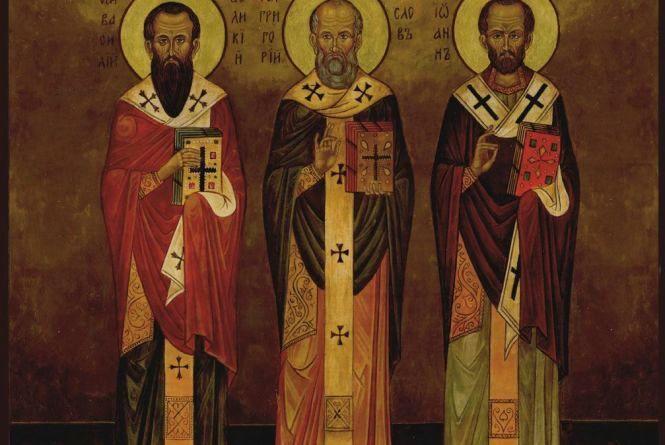 Сьогодні, 12 лютого: відзначають празник трьох святителів