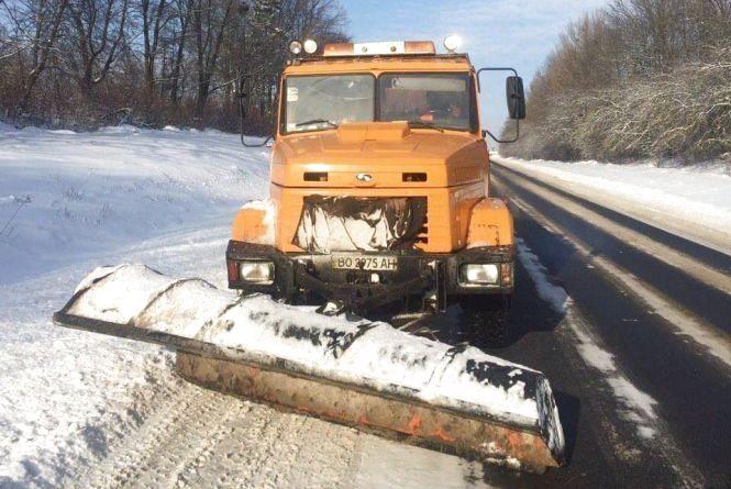 Тернопільські дорожники «розживуться» новою технікою для зими