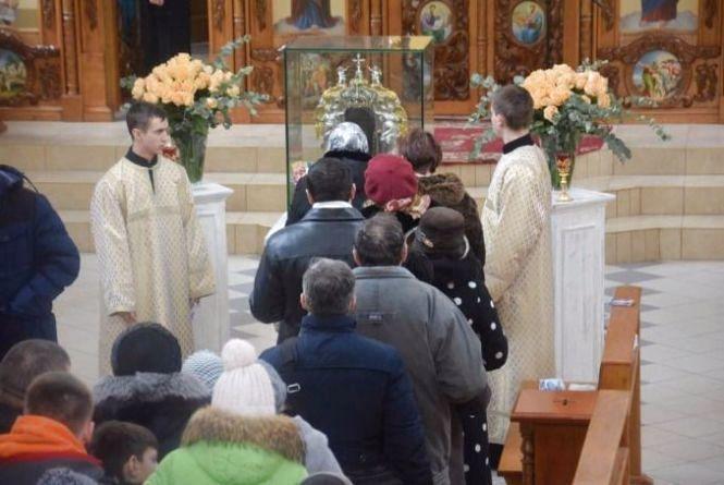Нерукотворний образ Ісуса Христа завтра буде в Катедрі