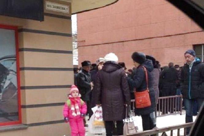 Екс-міліціонери пікетували Пенсійний фонд. Збираються на Київ (ОНОВЛЕНО)
