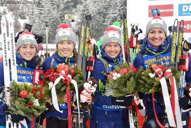 Тернополянки здобули срібні нагороди чемпіонату світу з біатлону