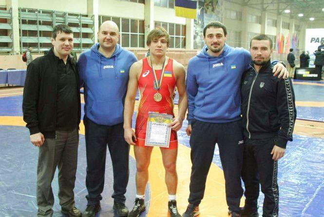 Борець Андрій Антонюк виборов путівку на чемпіонат Європи
