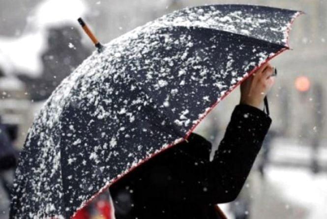 Погода у Тернополі: 22 лютого, сніг, -4°