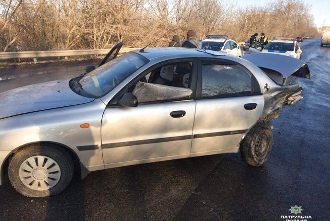 ДТП на Будного: п'яний водій Daewoo в'їхав в автомобіль Opel