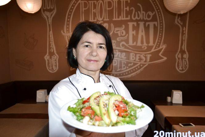 Готуємо вегетаріанський салат