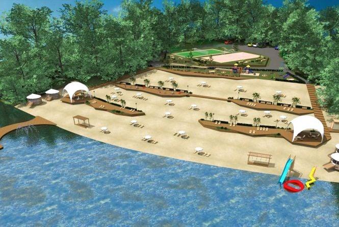 Як виглядатиме Дальній пляж після реконструкції