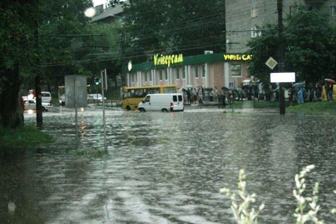 Місто може затопити через нові мікрорайони