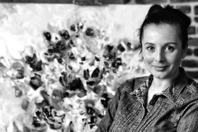 Художниця Олеся Гудима: «Було сильне бажання малювати. Таке, як бажання дихати»