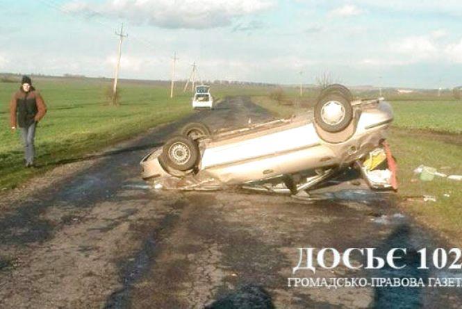 Сім'я з Львівщини потрапила в смертельне ДТП на Збаражчині