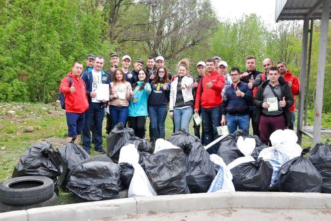 """""""Тернопіль став чистішим"""", - каже Микитюк Вікторія, координатор еко-акції в Тернополі"""