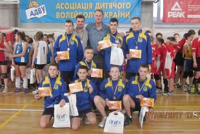 Тернопільські волейболісти – треті в чемпіонаті України