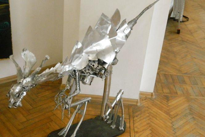 """На фестивалі """"Ї"""" - виставка скульптур, зроблених із металобрухту"""