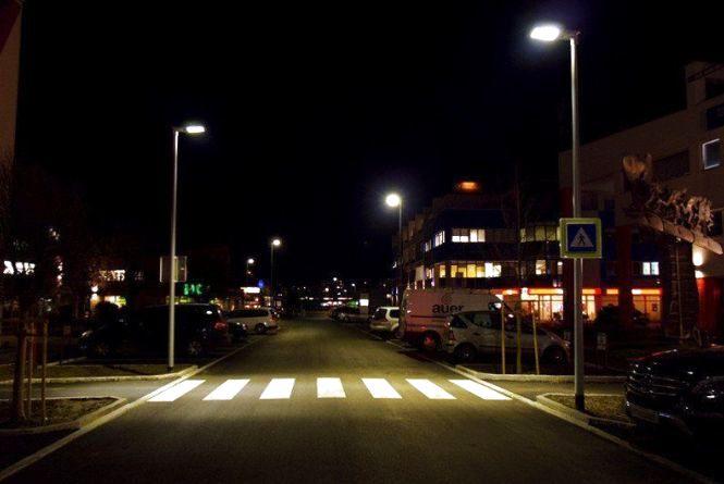 Список пішохідних переходів, які освітлять в місті