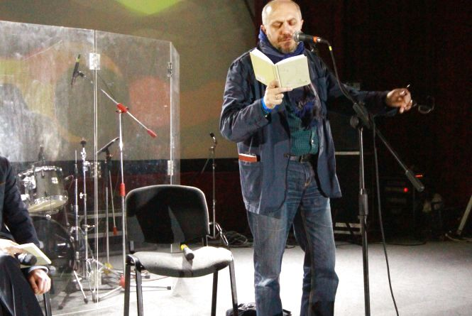 Василь Махно читав вірші про кохання, історію та пам'ятник собі