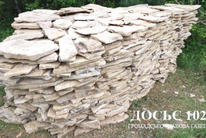 Активісти та СБУ спіймали копачів каменю