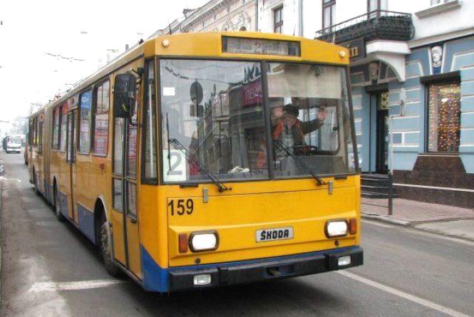 Чому у місті зупинились тролейбуси