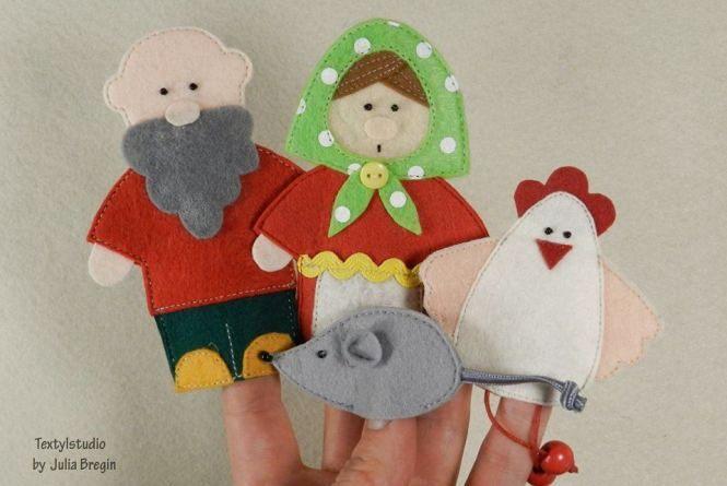 Школярів навчать шити фігурки для пальчикового театру