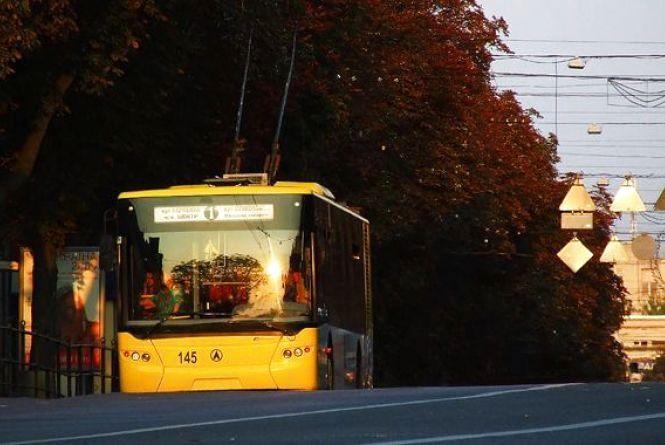 20-22 травня деякі тролейбуси курсуватимуть за іншим маршрутом