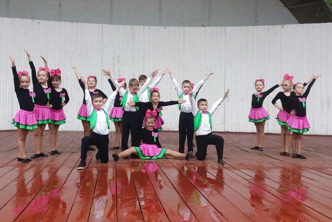 Маленькі тернополяни показали майстер-клас з танців