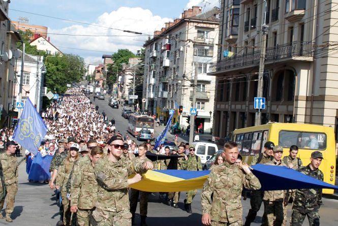 Рух в центрі Тернополя буде ускладнений з 17.00 23 травня
