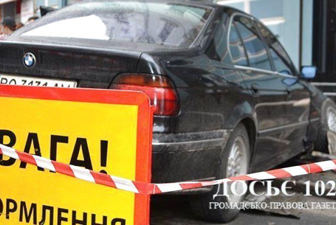 З'явилось відео ДТП на Руській, де постраждала 18-річна дівчина
