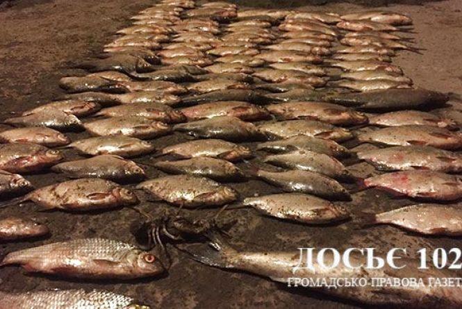 На Тернопільському ставі браконьєри витягнули риби на 32 тисячі