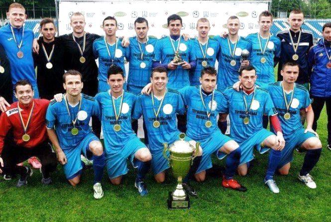 Тернопільські студенти вибороли титул чемпіонів України з футболу