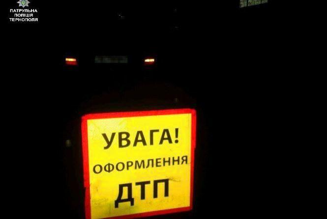 ДТП у Тернополі: зіткнулись Audi A4 та Lexus RX300. Водій автомобіля Lexus п'яний