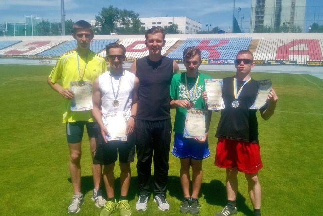 Медалі та нові звання вибороли тернопільські легкоатлети у Кропивницькому