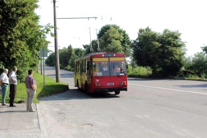 Увага! Через ремонт дороги змінено рух тролейбусів