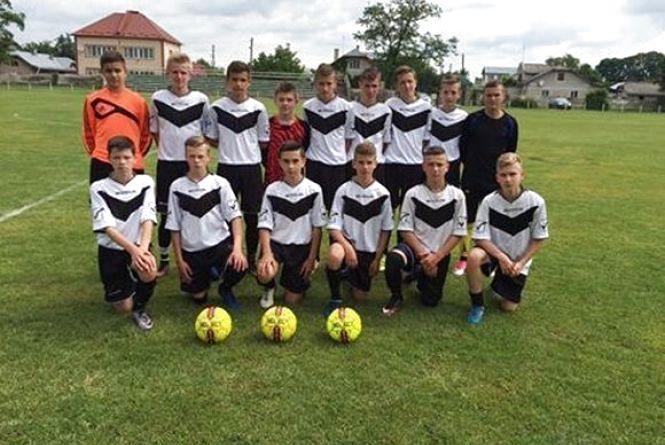 Дитячо-юнацьку футбольну лігу області серед молодших виграли теребовлянці
