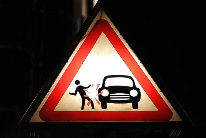 На Лесі Українки водій Ford збив пішохода на тротуарі