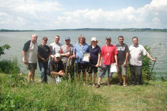 На Тернопіллі відбувся чемпіонат з лову риби