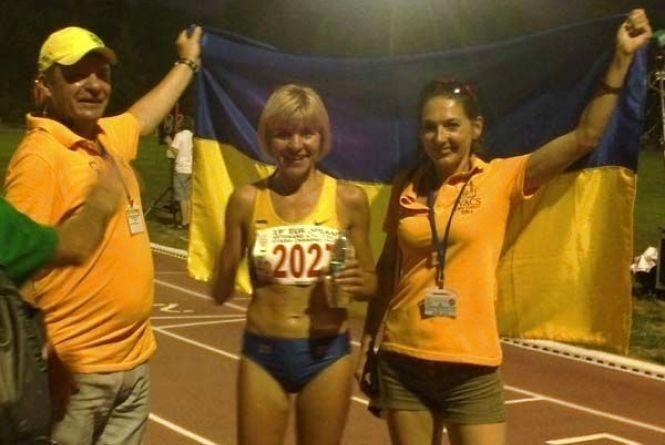 Відома тернопільська легкоатлетка перемогла на Всеукраїнських Іграх ветеранів