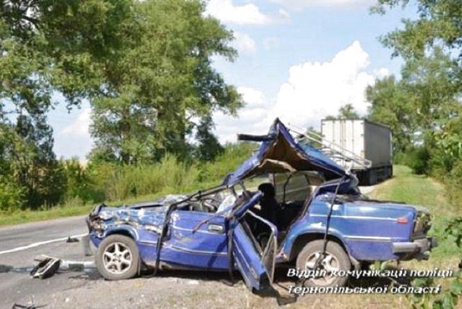 На Тернопільщині у ДТП загинув батько трьох дітей