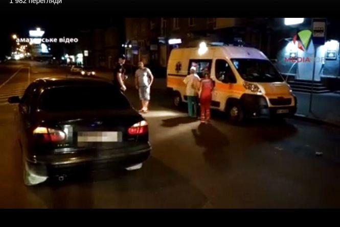 Вночі на Руській водій авто Daewoo збив двох чоловіків