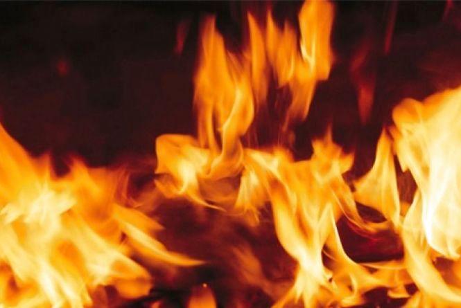 Через дитячі пустощі сталася пожежа