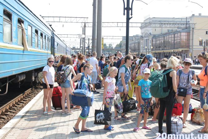 Діти, які живуть на лінії вогню, приїхали на відпочинок на Тернопільщину