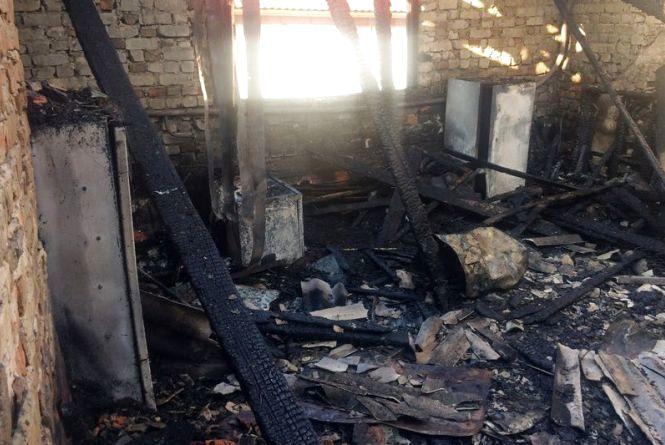 Після пожежі тернополянка з трьома дітьми залишилась на вулиці