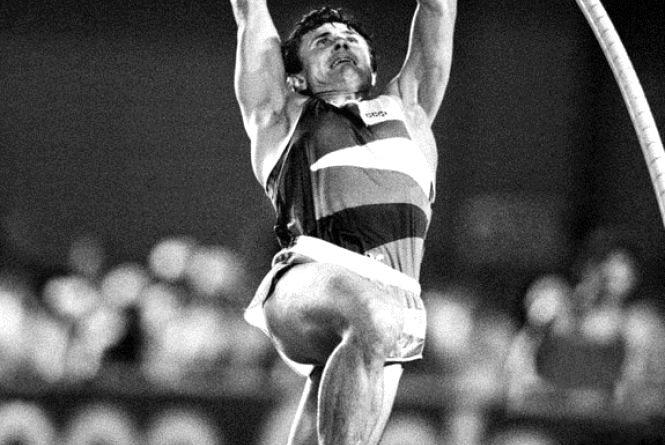 14 cерпня: Сергій Бубка став чемпіоном світу в стрибках з жердиною