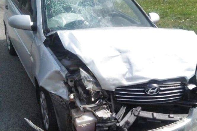 На Підволочиському шосе ДТП. 32-річну жінку забрала швидка