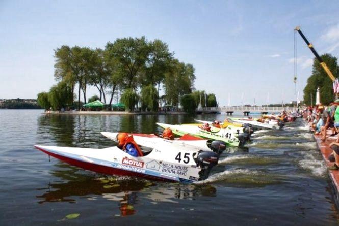 На змагання з водно-моторного спорту приїдуть 50 учасників з Європи