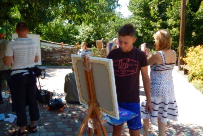 Юний художник з Тернополя вражає своїми картинами