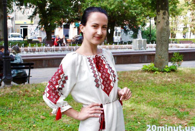 До Дня Незалежності тернополяни одягли вишиванки і тризуби