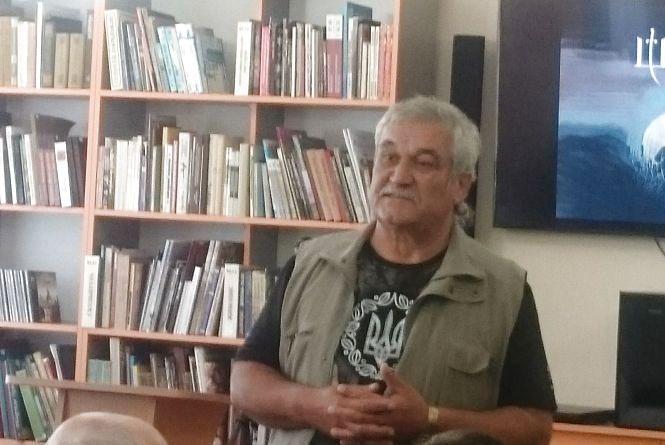 Василь Шкляр презентував у Тернополі свій новий роман «Троща»